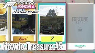 Forza Horizon 4: Fortune Island - How to Solve Treasure #5 [HD 1080P]