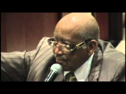 Senator Leroy Johnson Credits Benjamin Mays as a Major Source of Inspiration
