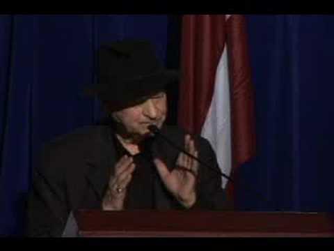 Jonas Mekas acceptance speech