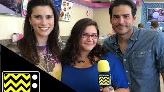 Finding Carter Stars Milena Govich ( Lori) & Eddie Matos (Kyle) | AfterBuzz TV Interview