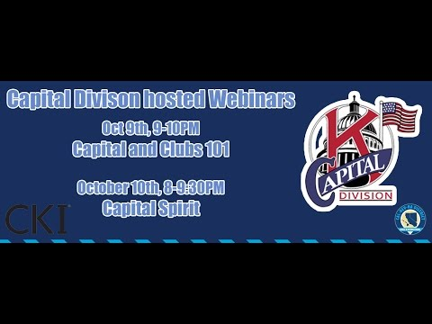 Capital Division and Clubs 101 Webinar