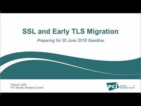 SSL and Early TLS Migration: Preparing for 30 June 2018 Deadline