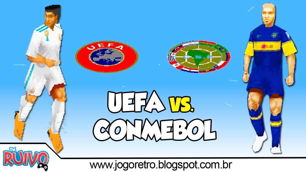 UEFA vs. CONMEBOL 2018 - 2019 UPDATE (WE2002 Patch) no Playstation 1 #1