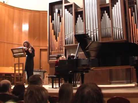 Schnittke Sonata No 3 for violin and piano Roman Mints, Katya Apekisheva mov.3,4