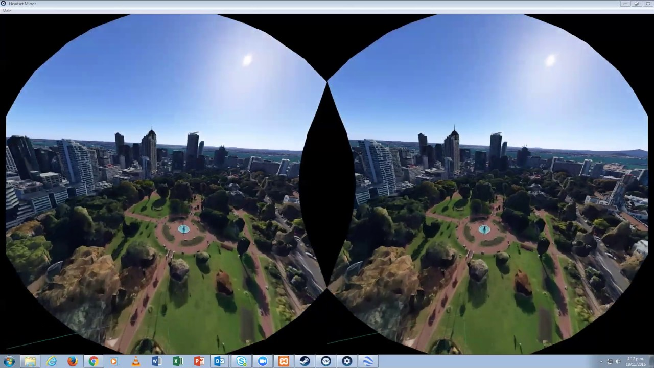 Google Earth Vr On Htc Vive Recorded