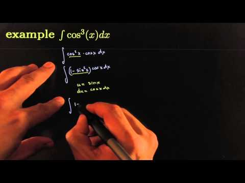 integrate cos ^3 x dx