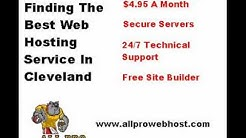 Dont Get Ripped Off Find Cheap Web Hosting Package In Cleveland