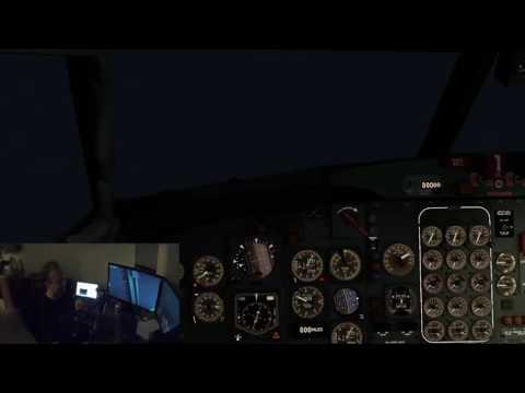 X-Plane 10: Drunk flying/landing hurricane Matthew Savannah GA