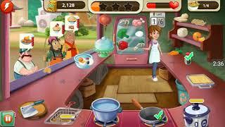 kitchen scramble level 213 | how to play kitchen scramble 213