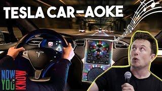 Tesla Time News - Tesla Car-aoke!