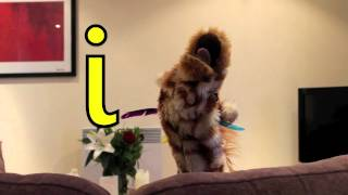 Geraldine the Giraffe learns the /i/ sound