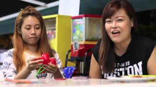 Balloon artist Jocelyn Ng short interview with Singapore renowned Emcee Sylvia