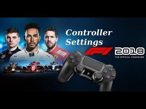 F1 2018 | Controller Settings | manuelles Schalten / ERS - DenMan