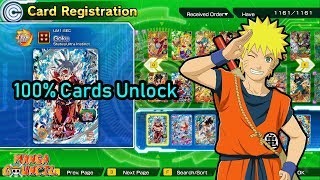 Super Dragon Ball Heroes World Mission Save Game | 100% Cards Unlock