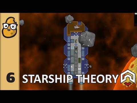 Starship Theory Ep. 6 - Spaceship Colony Survival Game! Rimworld in Space?