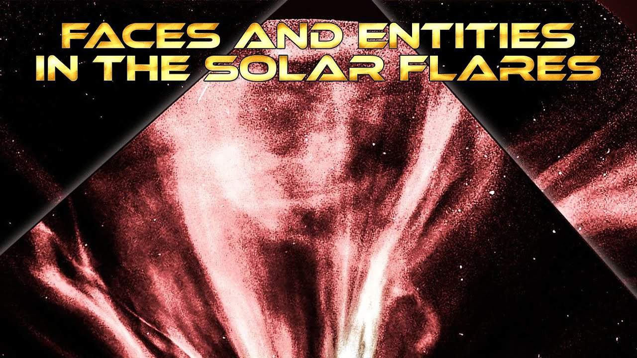 Faces and Entities in the Solar Flares, on Nasa Lasco Cams ...