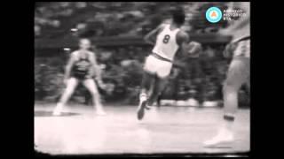 Kansas vs Oklahoma por la NBA, 1957