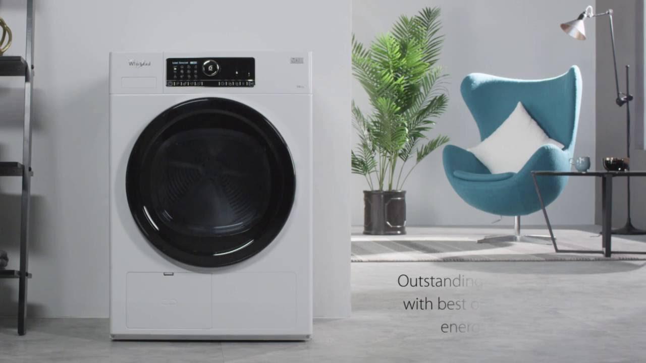 Whirlpool HSCX10431 Supreme Care Tumble Dryer - YouTube