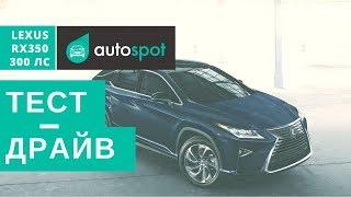видео Новый Lexus RX 350 (Лексус РХ 350) 2016 года
