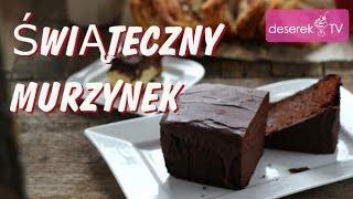 Ciasto Murzynek przepis z Wiśniami i czekoladą | Przepisy na Ciasta Świąteczne od Deserek.TV