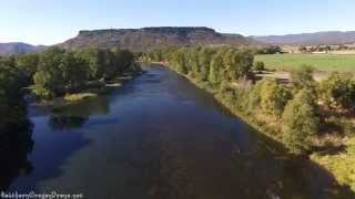 Aerial Perspective: Rogue River Salmon | Southern Oregon Drone