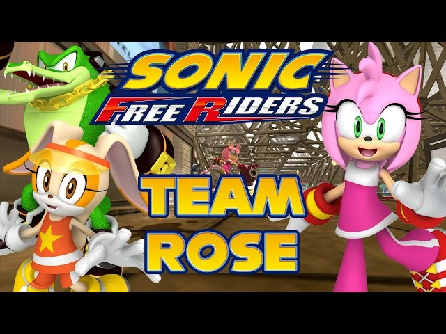Sonic Free Riders - Team Rose Story