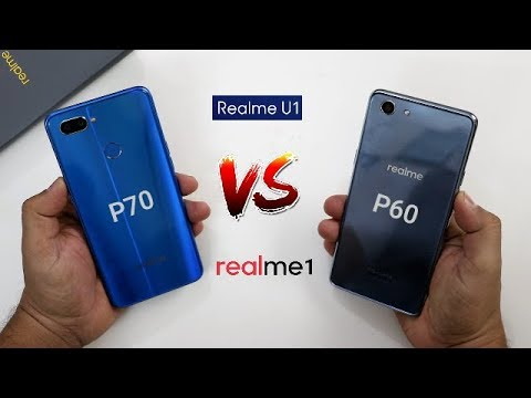 Realme U1 Vs Realme 1 SpeedTest And Camera Comparison I Mediatek Helio P70 Vs Helio P60
