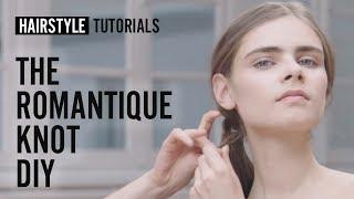 How to do the romantique knot? - DIY -  by Ashley Streicher | L'Oréal Professionnel tutorials