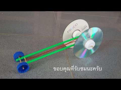 การประดิษฐ์รถพลังยาง (Rubber Band powered Car)