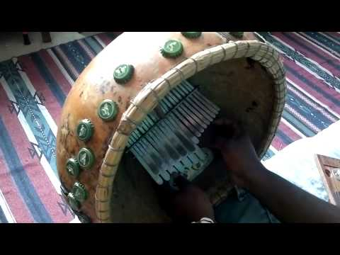 Mbira in G major - Made and Played by Dingiswayo Juma of Juma Drums