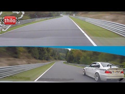 Afterwork Driving - Seat Leon Cupra + BMW M3 E46 - Nürburgring Nordschleife BTG