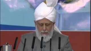 Речь 5-го халифа на собрании «Маджлис Ансарулла» 07-10-2012