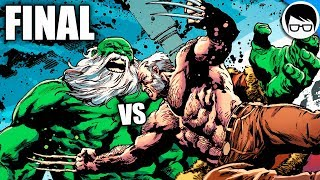"OLD MAN HULK VS OLD MAN LOGAN ""Batalla Final"" | Old Man Logan #50"