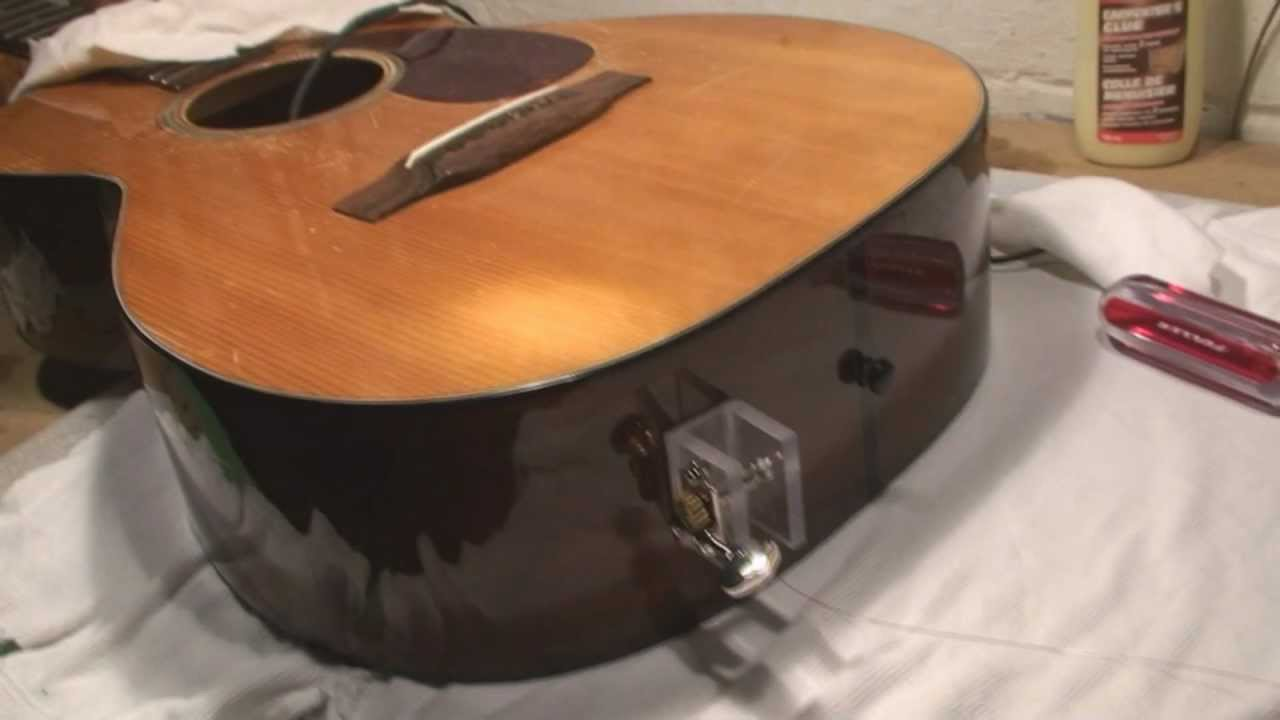 Martin 0 18 Guitar Side Crack Repair Youtube
