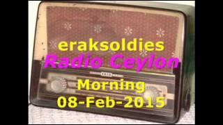 Radio Ceylon 08-02-2015~Sunday Morning~02 Purani Filmon Ka Sangeet
