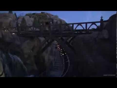 Seven Dwarfs Mine Train Ride Testing - New Fantasyland - Magic Kingdom - Walt Disney World