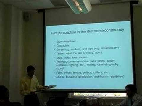 Representation of High-level Semantic Concepts of Films