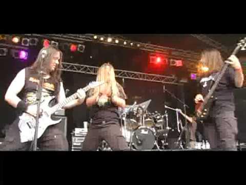 """Queens of Metal 2008 - Hatred """"Metal Massacre"""""""