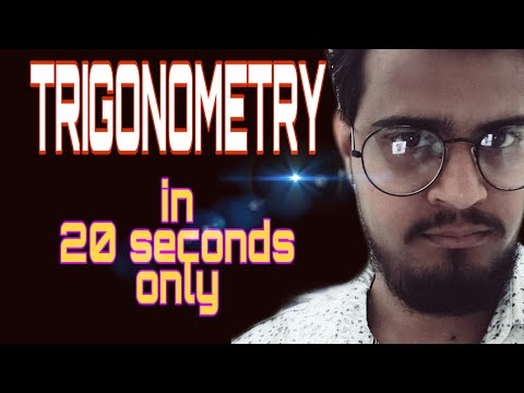 Trigonometry in less than 20 sec Yes! wATCH nOW! Free & Best by Nigania Coaching   ssc, cds exam