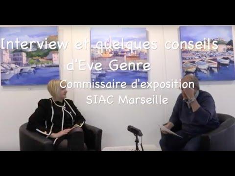 Eve Genre, commissaire d'exposition du SIAC Marseille