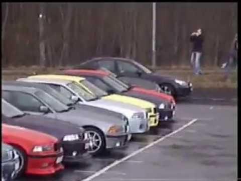 BMW meet and cruise karavan 2006 to Elmia with clube36