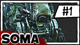 ROBOT HORROR GAME?! [1] Soma Blind Playthrough [Survival Horror]