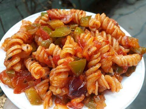 Indian Style Pasta Recipe | Red Sauce Pasta Recipe | Quick and Easy Pasta Recipe