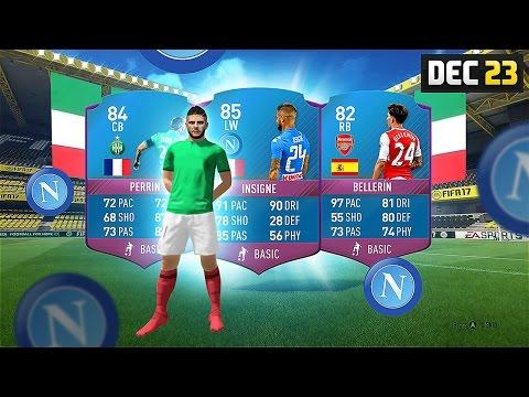 BELLERIN / INSIGNE / PERRIN (CHEAP) FUTMAS SBC! - #SBC #FIFA17 Ultimate Team