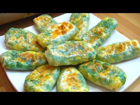 天冷,教你韭菜懶人做法,加2個雞蛋,做法簡單,外酥里嫩,10個不夠吃!【娟子美食】