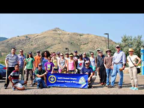 Colorado School of Mines AAPG Student Chapter Highlights 2015-2016