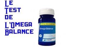 Test complement santé: l'Omega Balance de Myprotein