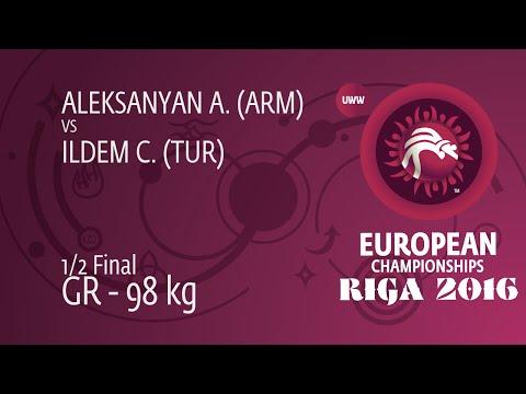 Semifinal:  Artur ALEKSANYAN (ARM) Df. Cenk ILDEM (TUR), 6-2