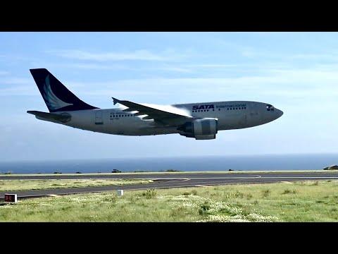 Turbulence Hits Plane During Low Pass