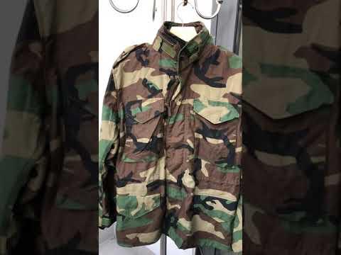 Áo Khoác M65 Rằn Ri Của Quân đội Mỹ - Size Small Short